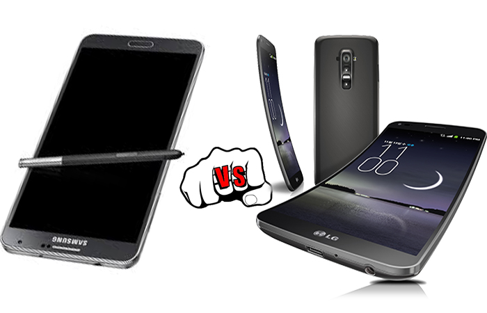 Samsung Galaxy Note 3 vs LG G Flex