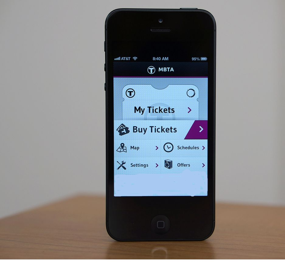 Book Tickets by smartphones